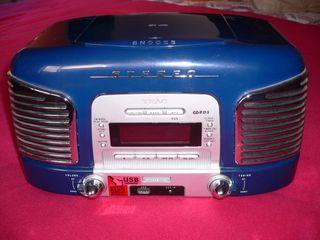 RADIO CD TEAC SL-D910 en color azul oscuro