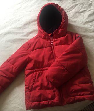 Abrigo con capucha 5 años