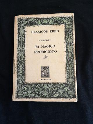 Libro El mágico prodigioso de Calderón