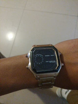 reloj dorado breska precio negociabe