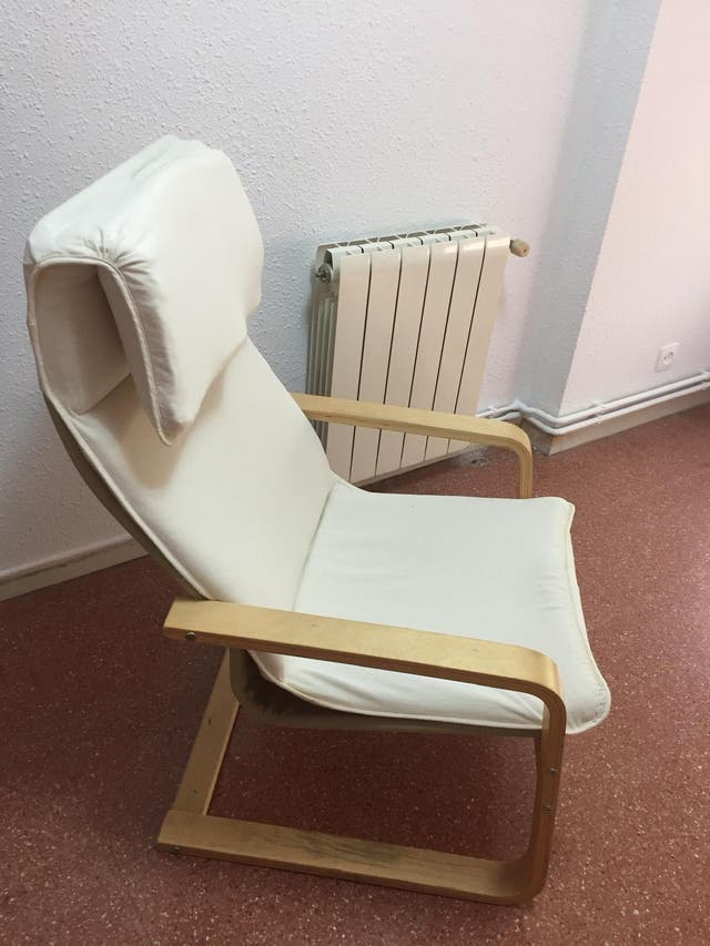 Tumbonas color crema (Ikea)