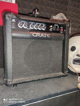 amplificador de guitarra crate 15w