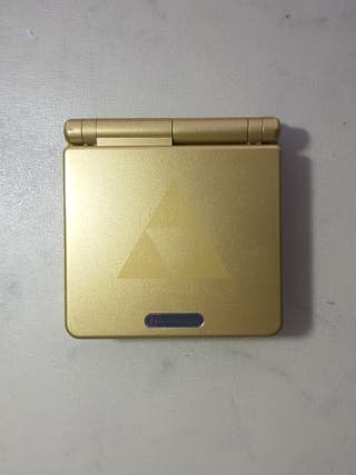 gameboy advance sp edicion zelda + pack juegos