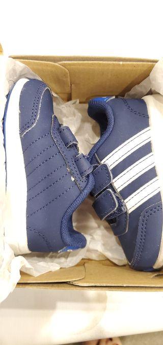 zapatillas Adidas azul talla 19