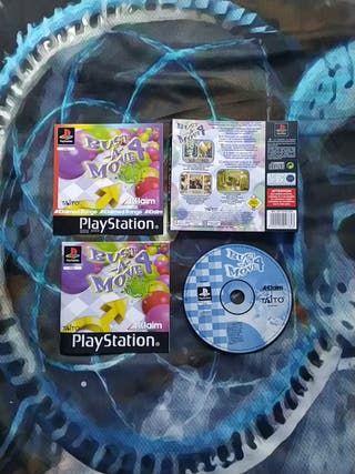 Bust -A- Move 4 sin caja psx ps1 play 1 PlayStatio