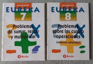 Cuadernillos de problemas 7 y 8. EUREKA
