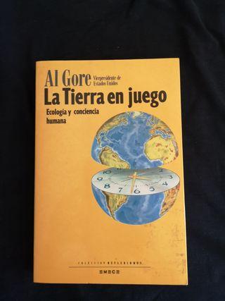 Libro La Tierra en juego de Al Gore