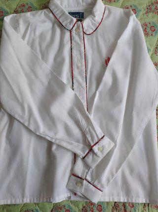 Camisa uniforme Fomento niña