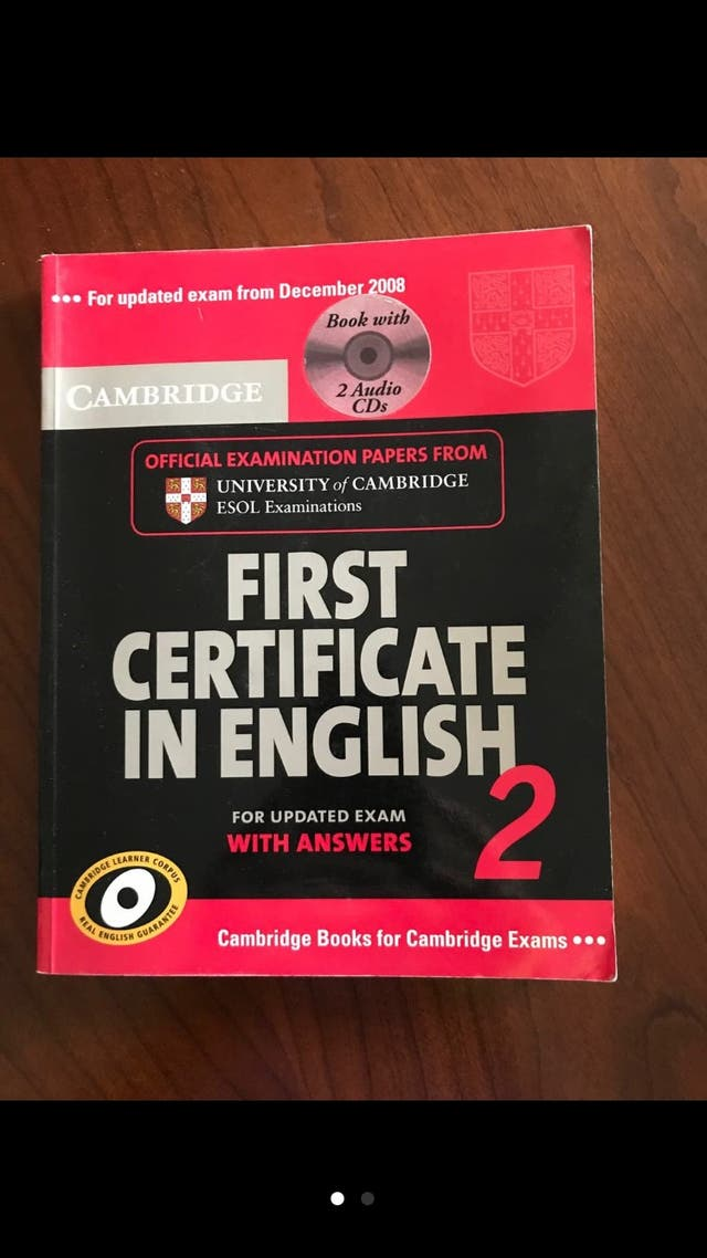First Certificate in english 2
