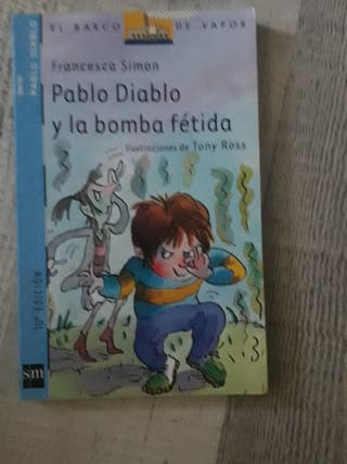 Libro: Pablo Diablo y la bomba fetida