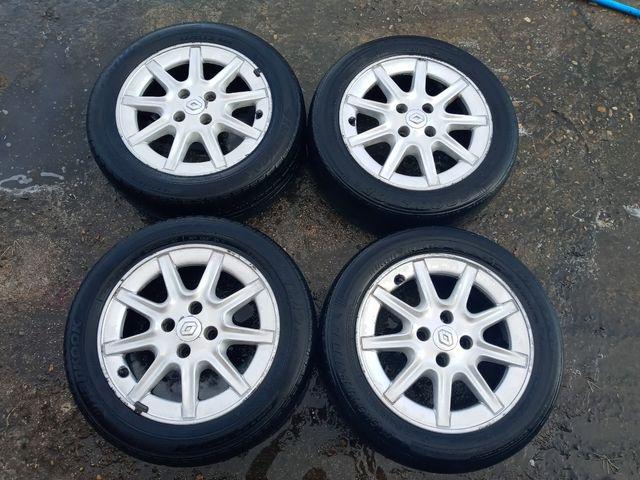 """llantas aluminio 15"""" Renault clio"""