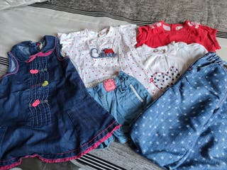 lote ropa verano de 6 a 12 meses