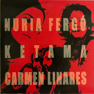 CD Single Nuria Fergó Ketama Carmen Linares