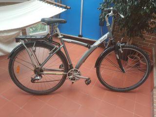"""Bicicleta b'Twin 28"""" Polivalente ciudad y caminos"""