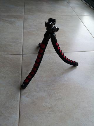 Trípode flexible para fotografía
