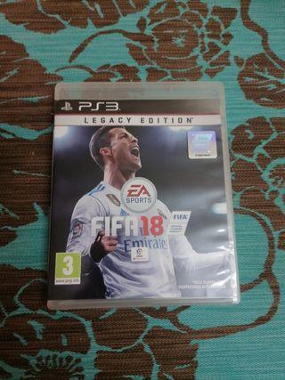 Juego FIFA 18