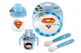 Pack menaje bebé Superman (A ESTRENAR) Pack de me
