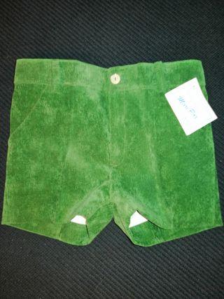Pantalones cortos de niño 2 años