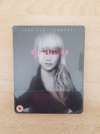 Red Sparrow Blu Ray STEELBOOK NEW and SEALED