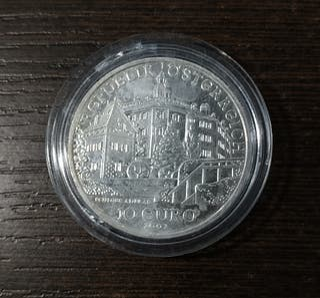 Moneda 10 euros Austria 2002 - Castillo de Ambras