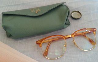 Gafas vintage. Años 70-80. Para atrezzo