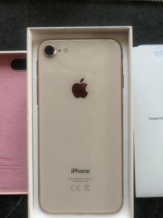 Iphone 8 64 gb rosa palo