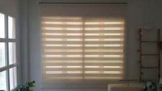 Estor noche y día color lino 200x250cm