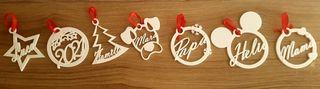 Bolas de Navidad Personalizadas en 3D