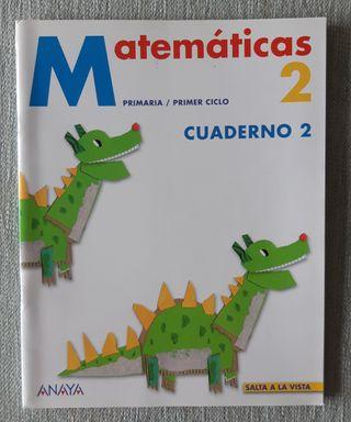 Cuadernillo 2 de Matemáticas. ANAYA