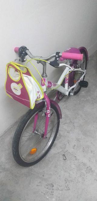 Bicicleta niña 20pulgadas decathon