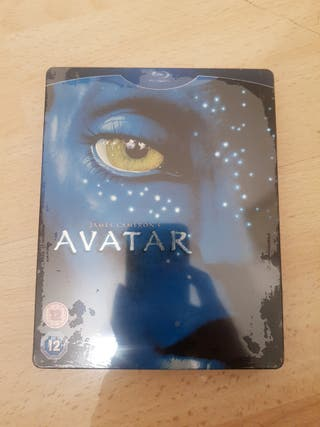 Avatar Blu Ray STEELBOOK NEW and SEALED