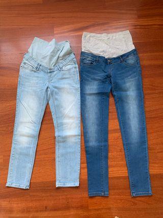 Lote ropa premama otoño/invierno (6 uds), talla S