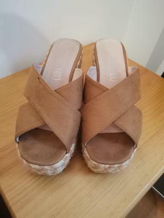 Sandalias de tacon