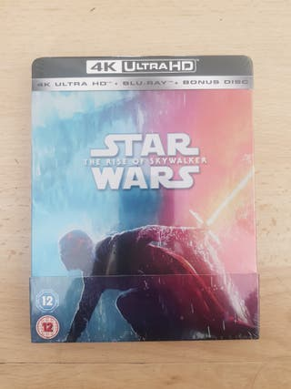 Star Wars The Rise of Skywalker 4K UHD Blu Ray