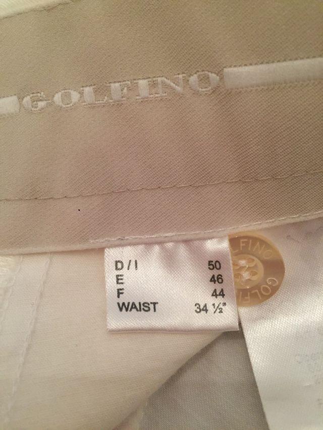 Pantalón bermudas golf Golfino