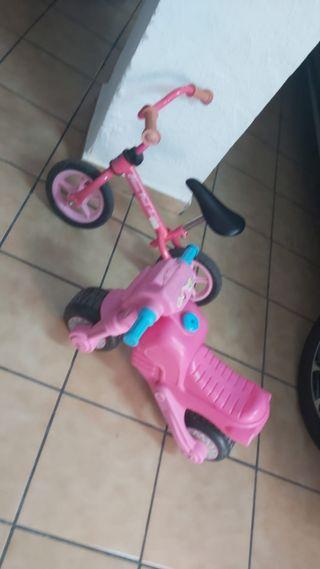 bicicleta y moto aprendizaje