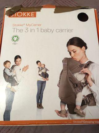 Mochila porta bebes stokke my carrier