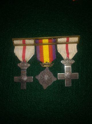 Pasador de Medallas Militares Gobierno Provisional