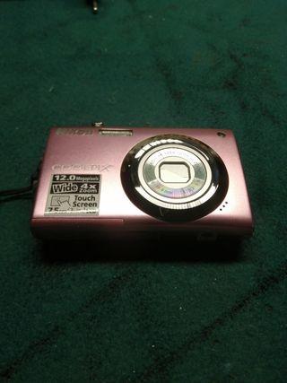 cámara de foto pantalla tactil
