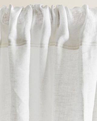 3 Hermosas cortinas de Lino de Zara Home!