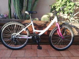 Bicicleta niñ@s 24