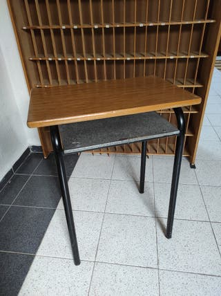 Mesas colegio formica