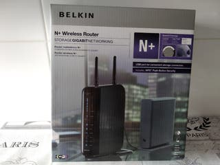 Router Wifi inalámbrico BELKIN gran alcance