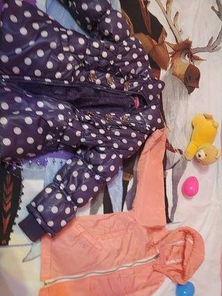 chaqueta naranja para niñas de 4 años
