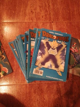 comics serie azul dragon ball