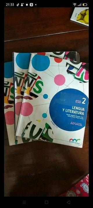 Libro de texto de lengua y literatura -2Eso