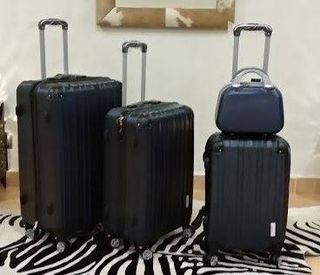 Set 4 maletas rígidas.8 ruedas 360. Envío GRATIS
