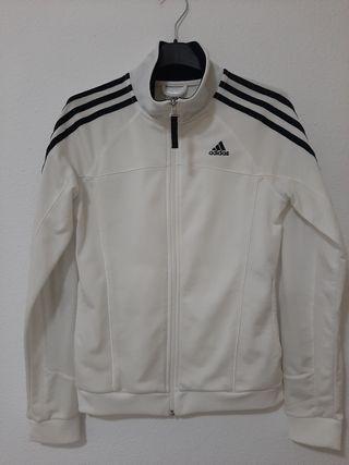 Chaqueta blanca Adidas mujer