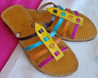 Sandalias Piel Colores 2 x 29,99€ ¡Envio Gratis!