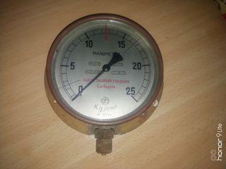Manómetro cámara hiperbarica, buceo submarinismo